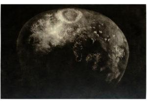 Láva · mezzotinta · 66 x 100 cm 2013