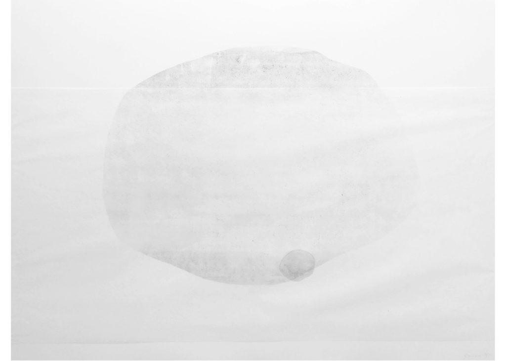 graphic cycle Small Worlds · lithography · 70 x 100 cm 2017