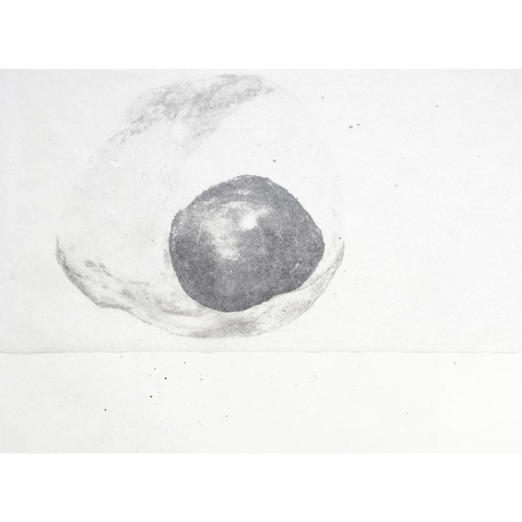 Malé světy · litografie · 2017