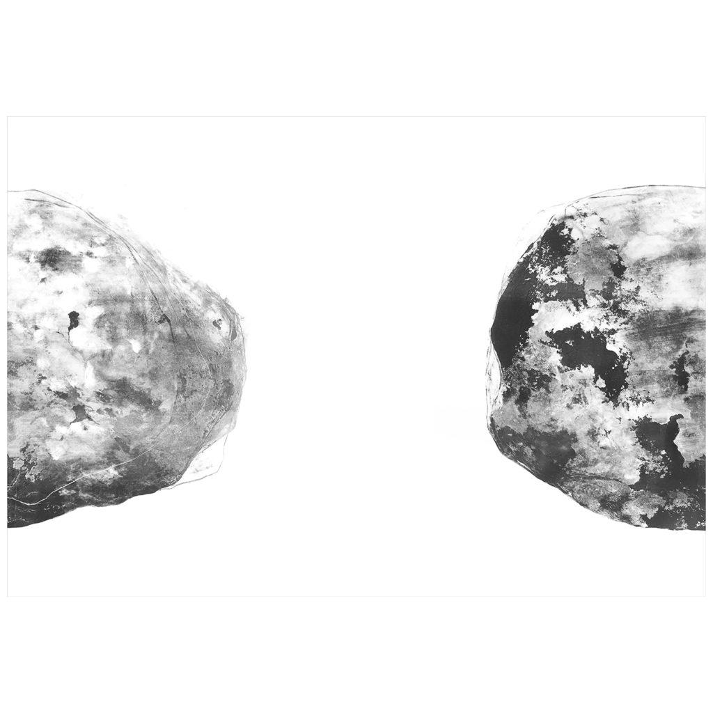 grafický cyklus Kameny · litografie · 70 x 100 cm 2016