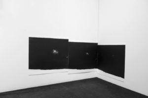 cyklus Nic tam není · litografie · 2018
