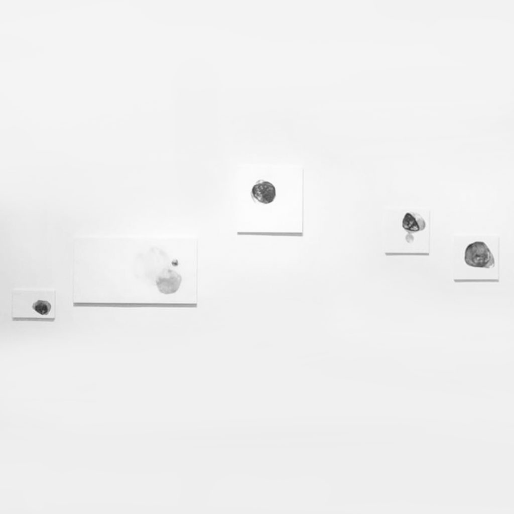 installation Small Worlds · lithography · 2017