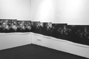 installation There is nothing there · lithography · 2018