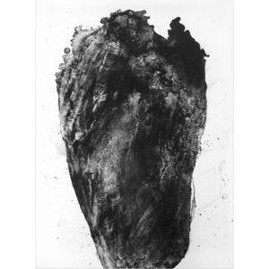 Hlava · litografie · 75 x 110 cm 2019